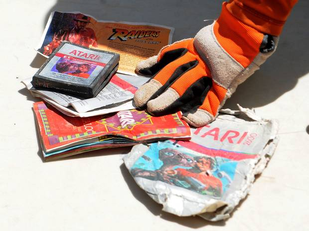 Recovered-Atari-cartridges