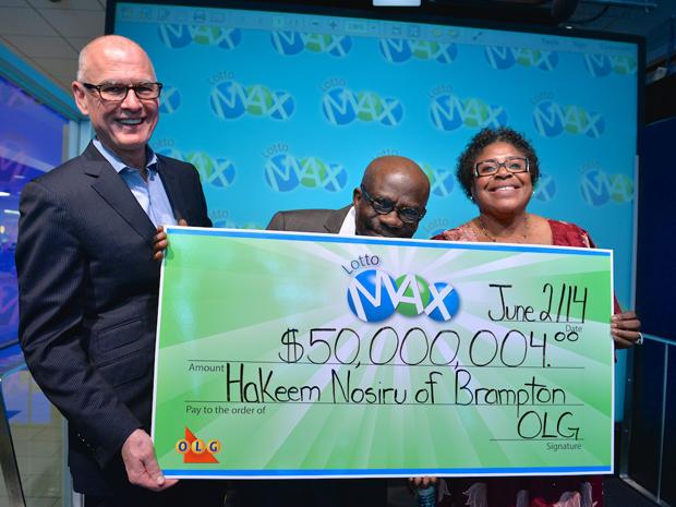 $50M LOTTO MAX January 17, 2014 Winner Hakeem Nosiru (with.jpg