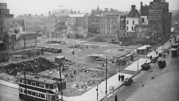 Belfast blitz - City was devastated after the four-hour bombing
