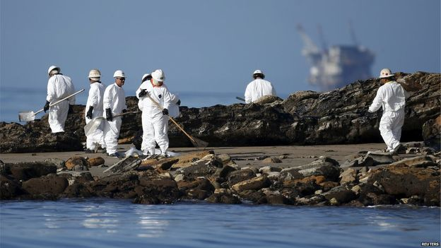 State of Emergency In Southern California After Massive Oil Spill.