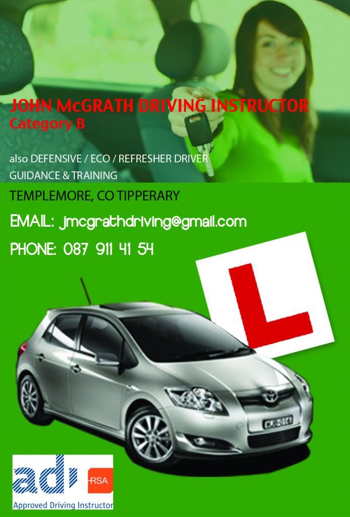 John McGrath Driving Instructor