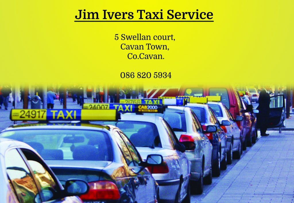 im Ivers Taxi Service half page