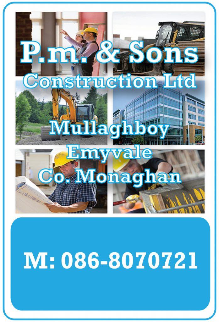 P.M. CONSTRUCTION LIMITED B