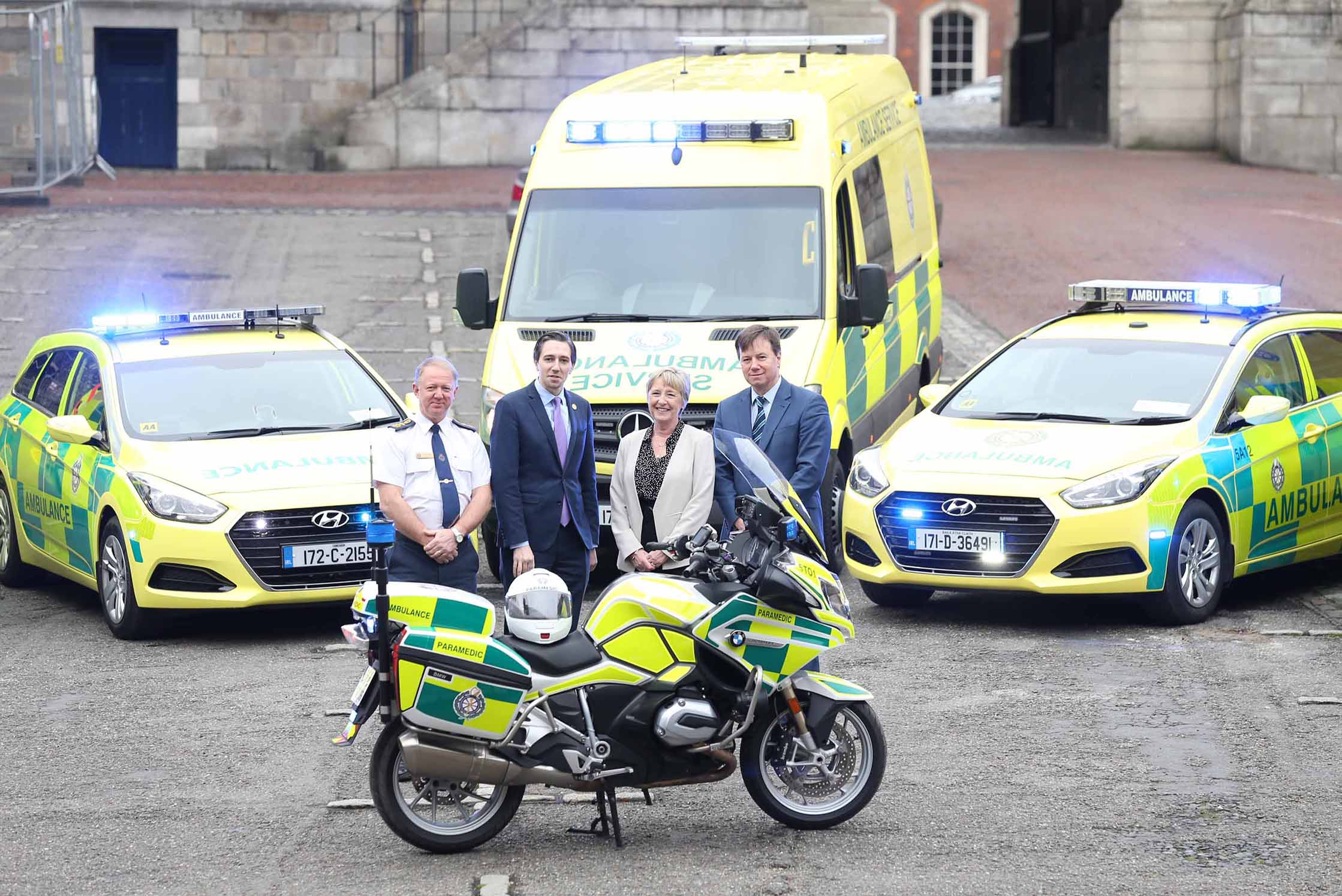 National Ambulance Service Introduced 91 New Vehicles Into Its Services During 2017