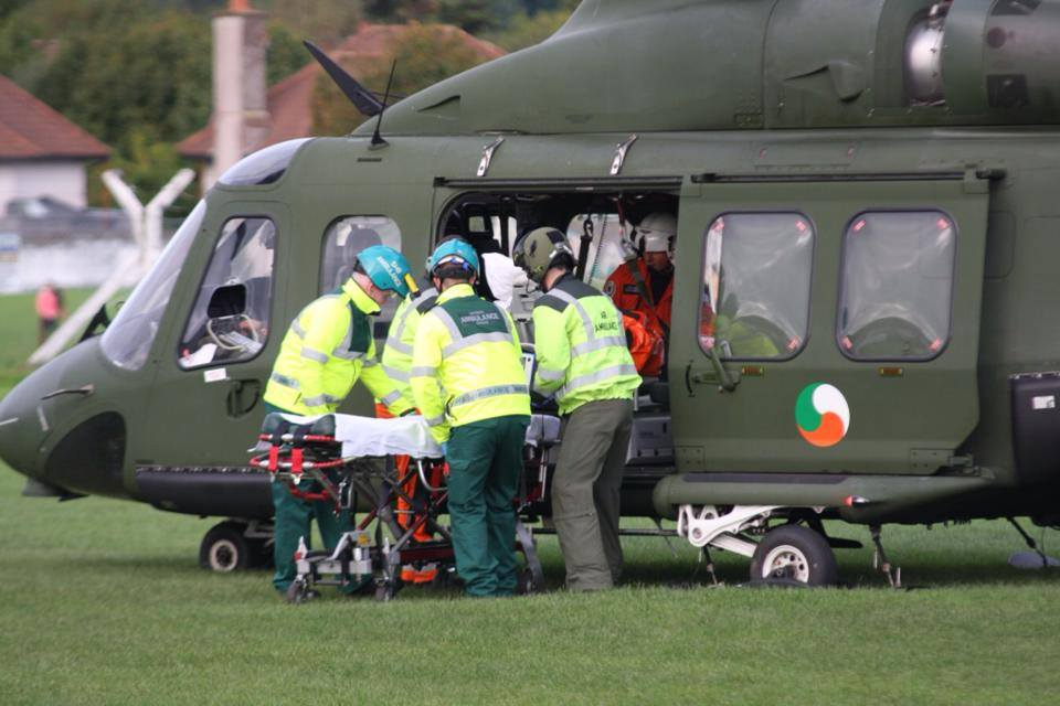 Air Corps Continue To Make Significant Emergency Response Contribution