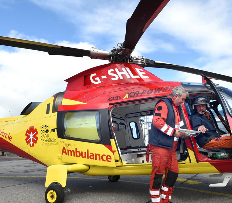 ICRR Air Ambulance delivers 56 missions in first month