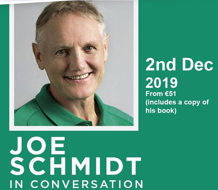 Joe Schmidt in Conversation – Bord Gais Theatre