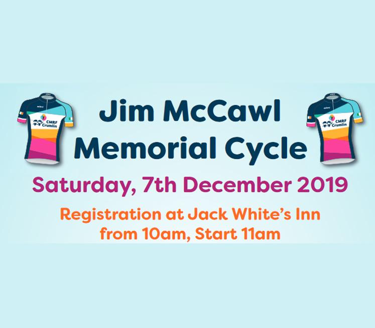GSRMA deceased Member Jim McCawl memorial cycle