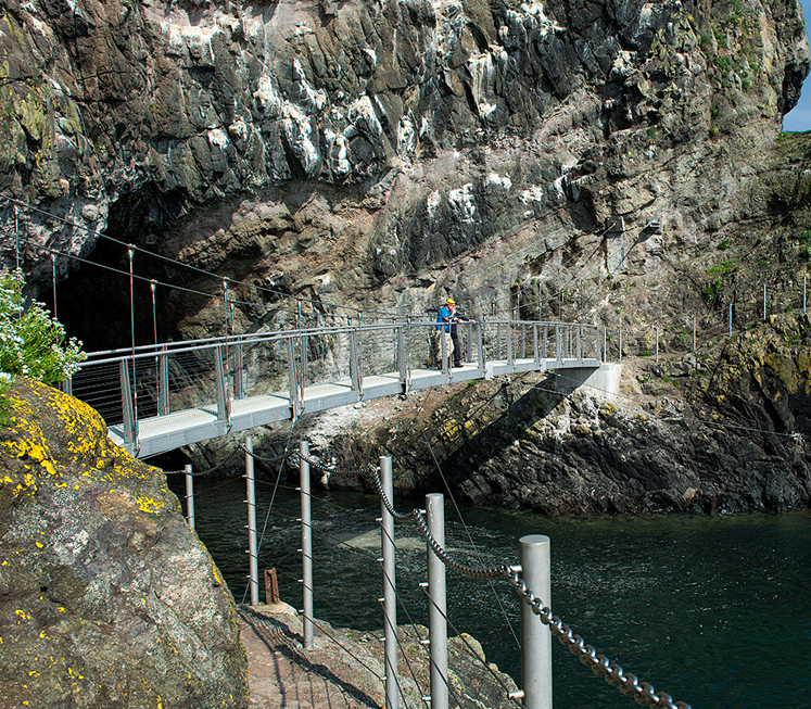 The Gobbins Walkway