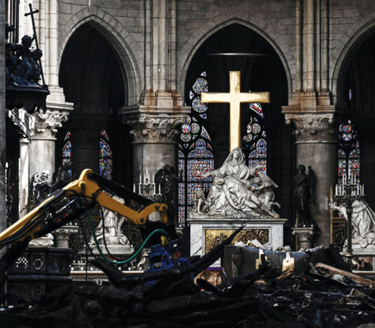 After the Notre Dame fire, scientists get a glimpse of the cathedral's origins
