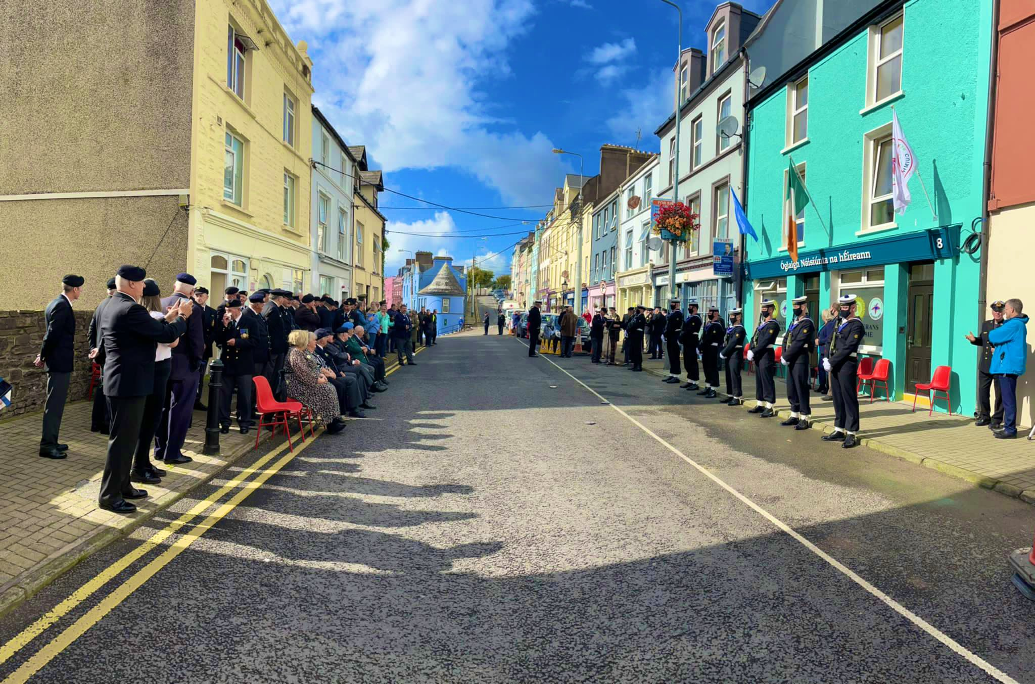 Minister for Defence Officially Opens O.N.E. Veteran Support Centre and Hostel at Cobh